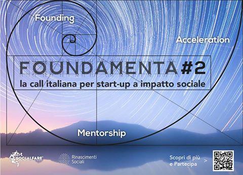 Call FOUNDAMENTA #2 di SocialFare