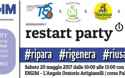 Restart Party con gli #ArtigianiDigitali – 20 maggio 2017