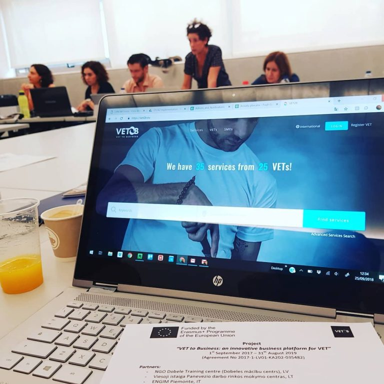 Progetto Europeo – VET2B – VEt to Business