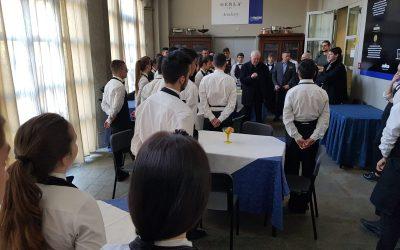 Il Vescovo Nosiglia incontra gli allievi dell'Engim Artigianelli