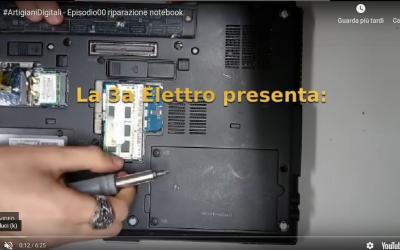 """Artigiani Digitali all'opera: """"Restartiamo un portatile"""""""